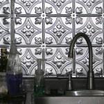 dekoratif metal fayans