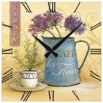 frank ray dekoratif tasarimli duvar saatleri