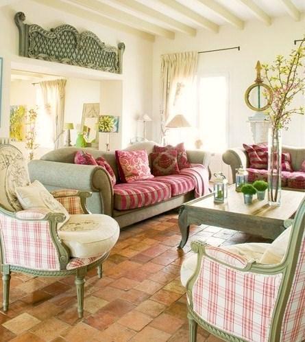fransiz country oturma odasi dekorstyle. Black Bedroom Furniture Sets. Home Design Ideas