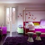genc kizlar icin renkli oda dekorasyonlari