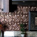kabartma desenli dekoratif metal fayanslar