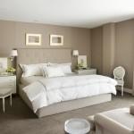 krem renkli yatak odasi dekorasyonu