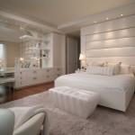 lux beyaz yatak odasi modeli
