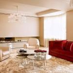 lux salon dekorasyon modeli