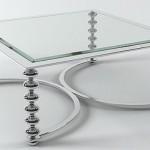 metal ayakli cam orta sehpa