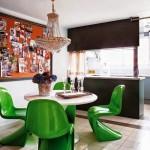 modern dekorasyonlu yemek odasi
