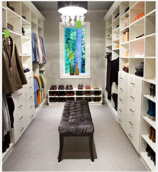 Modern ve Kullanışlı Giyinme Odası Modelleri