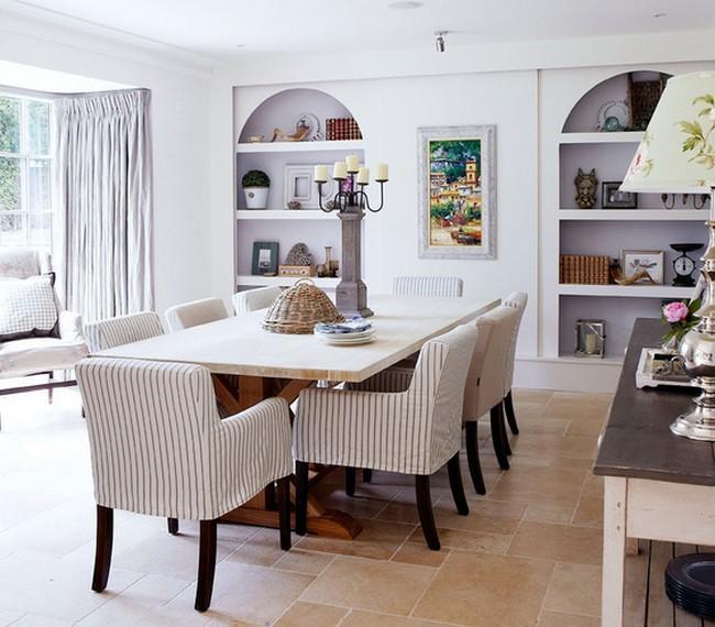 modern yemek odasi dekorasyon modeli