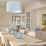 pastel renkli yemek odasi dekorasyonu
