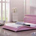 pembe beyaz yatak odasi dekorasyonu