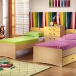 renkli kardes odasi dekorasyonu
