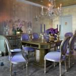 renkli yemek odasi dekorasyonu