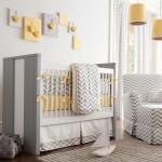 sade ve modern bebek odasi dekorasyonu