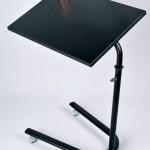 siyah modern laptop sehpasi