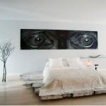 tarz yatak odasi dekorasyonu