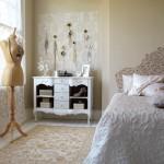 vintage yatak odasi dekorasyonu
