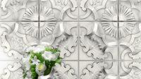 3D Dekoratif Seramik Fayans Modelleri 2015
