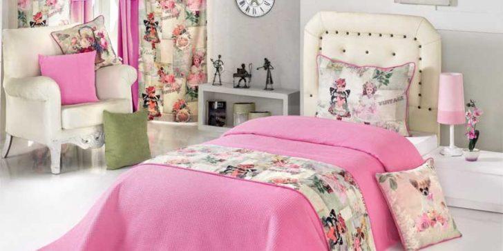 Genç Kız Odası Yatak Örtüsü Modelleri 2015
