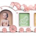bebek tren resim cercevesi