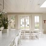beyaz modern ev dekorasyonu