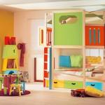 cocuk odalarına renkli mobilyalar