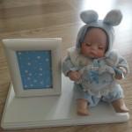 dekoratif bebek resim cercevesi