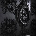 dekoratif siyah duvar kagitlari