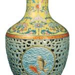 dekoratif sreamik vazo modeli
