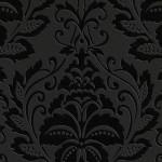kabartma desenli siyah duvar kagidi