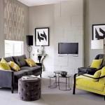 kucuk ve modern dekore edilmis salonlar