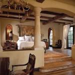 lüks ve gosterisli yatak odasi dekorasyonu