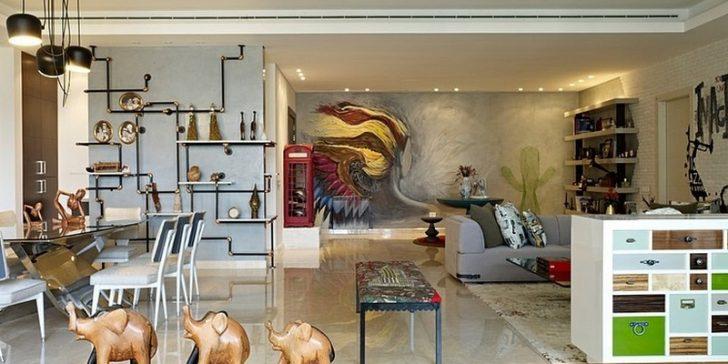 Renkli Ve Sıradışı Ev Dekorasyon Modelleri