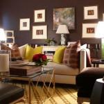 modern kucuk salon dekorasyonu