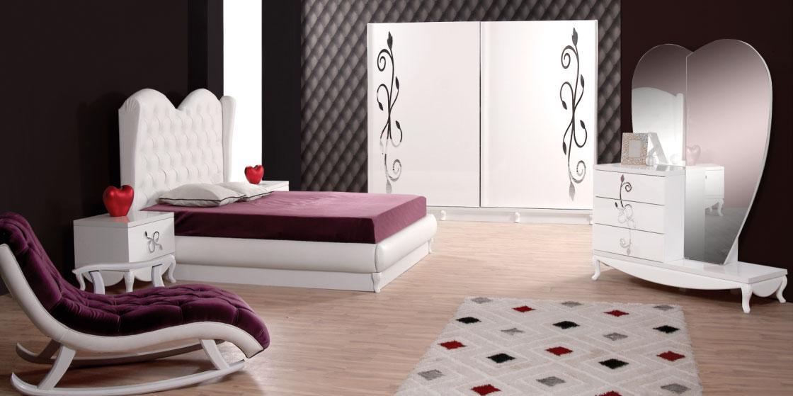 paris yatak odasi