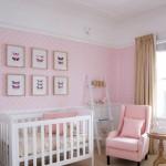pembe beyaz kiz bebek odasi