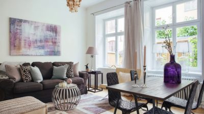 Modern Oturma Odası Dekorasyonları
