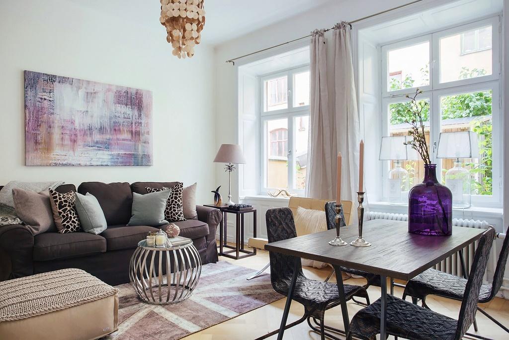 Modern oturma odas dekorasyonlar dekorstyle for Decorar casa 45 m2
