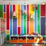 rengarenk cocuk odasi dekorasyon modelleri