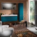 renkli banyo dekorasyonlari