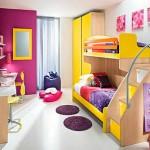 renkli cocuk odasi dekorasyonu