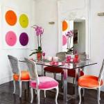 renkli yemek odasi