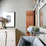 rustik stil banyolar