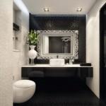 siyah beyaz banyolar