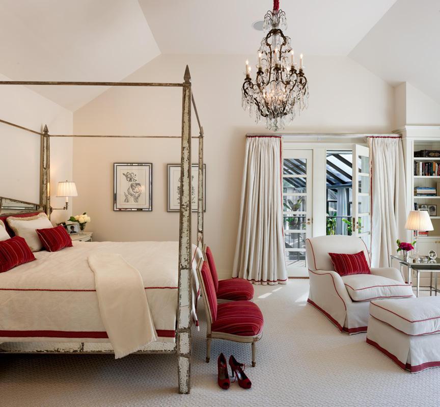 yaz dekorasyonlu yatak odalari