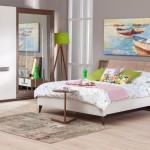 yeni moda yatak odalari