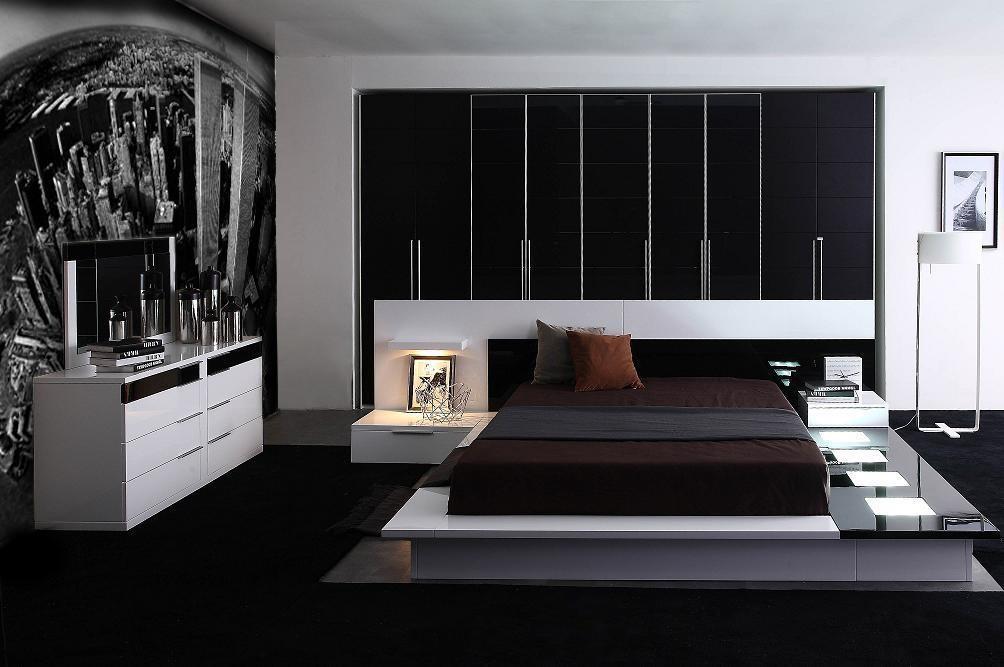 2015 modern yatak odasi modeli