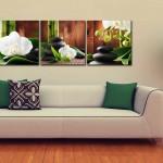dekoratif parcali tablolar