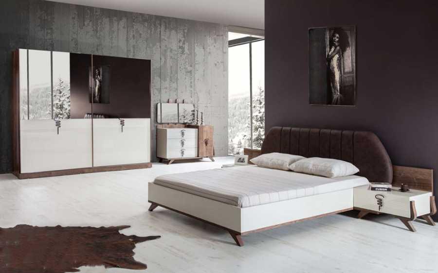 moda modern yatak odalari