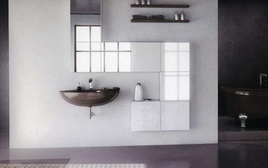 2016 Beyaz banyo dolabı modelleri