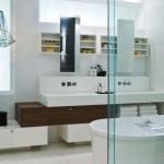 Beyaz Banyo Dolabı Modelleri 2016